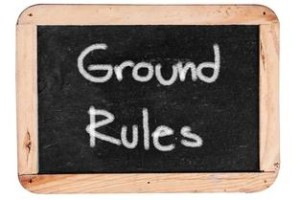 shows how you must set the ground rules when dating